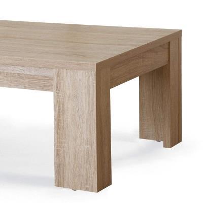 ERWAN - Table basse contemporaine en bois